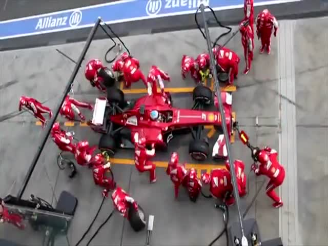 An Interesting Comparison of Pitstops through Different Motorsports  (VIDEO)