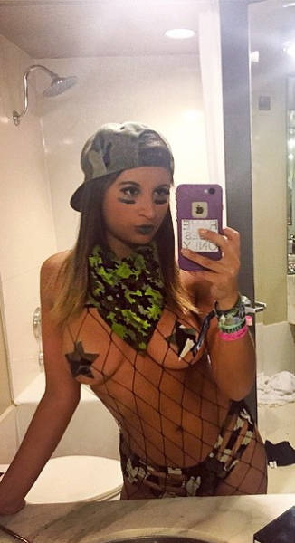 Meet the Hottest Girls of EDC Las Vegas 2015