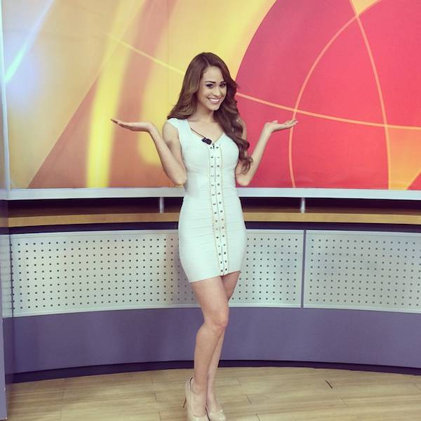 Very Often Weather Reporters Are Hot, But This One Might Be the Hottest