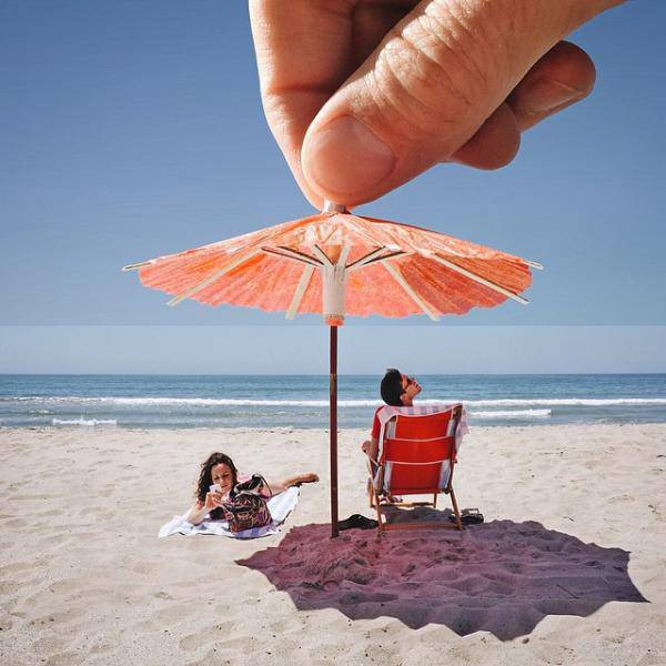 Creative and Amusing Photo Mashups