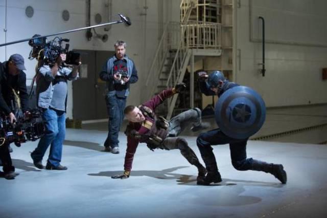 The Backstage Action on Set of Major Films