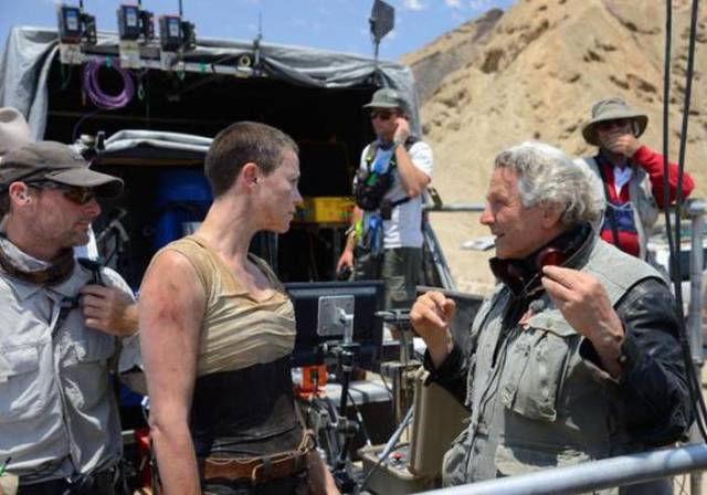 The Backstage Action on Set of Major Films