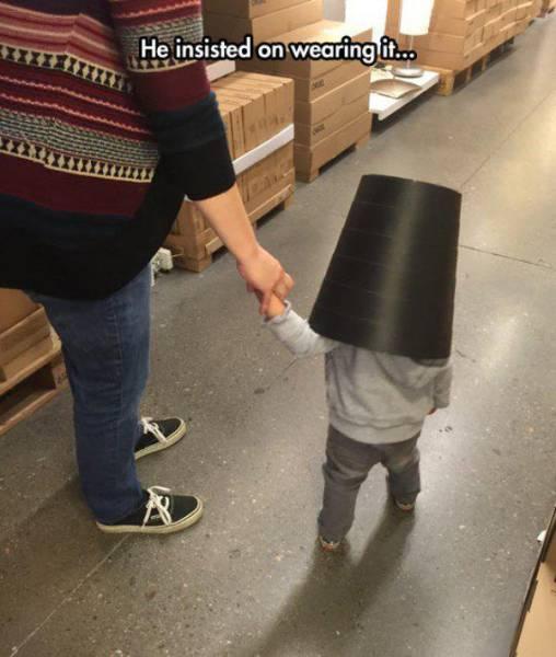 Kids Are Little Demons of Destruction