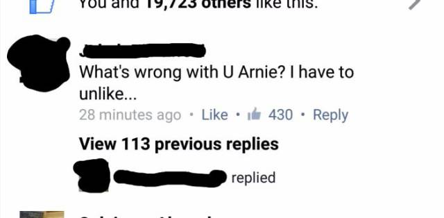 Arnold Schwarzenegger Fan Gets Owned by the Star on Facebook