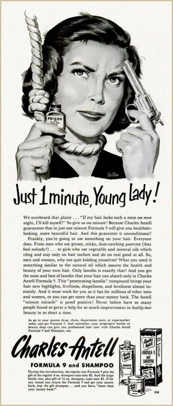 Old-School Adverts That Are Definitely Not Politically Correct Today