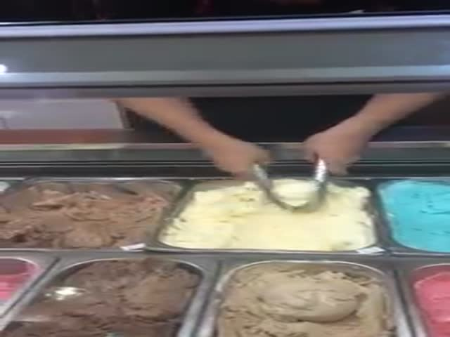 The Coolest Way to Serve Up Ice Cream Ever