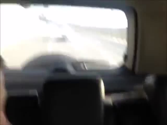 Guy With Road Rage Gets Instant Karma