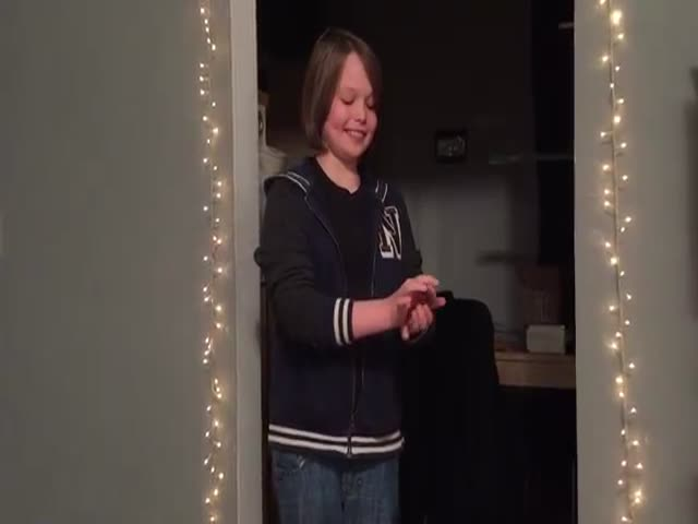 This Boy's Slight of Hand Skills Totally Kicks Ass