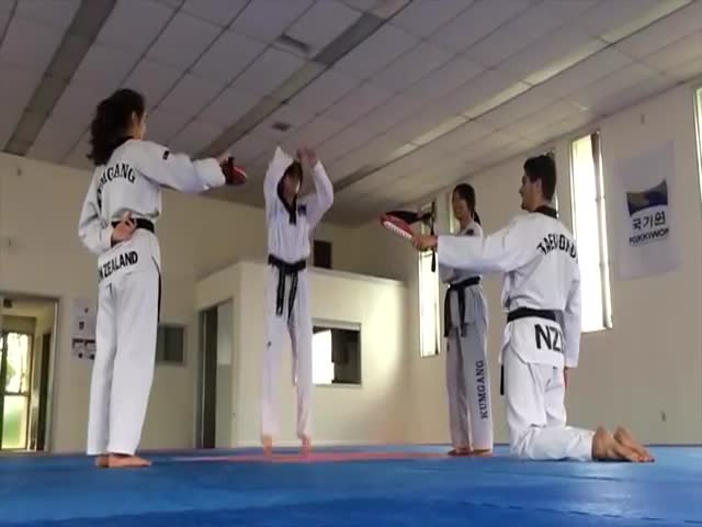People Who Kick Ass in Martial Arts