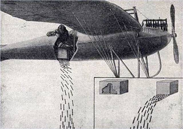 Before Pilots Dropped Bombs They Used to Drop These Deadly Weapons