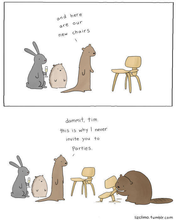 Cute Illustrated Conversations between Animals
