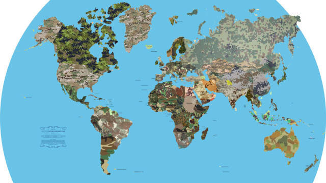 Educational Maps That Show the World from a New Perspective