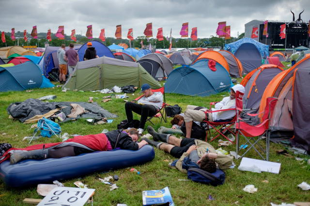 Glastonbury Is Over but the Clean-up Is Just Beginning