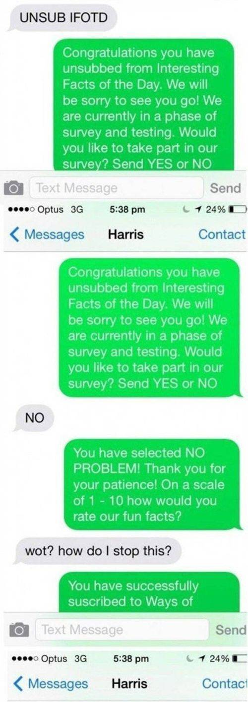 Text Spammer Gets Nailed and Doesn't Even See It Coming