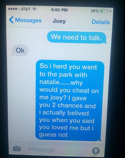 11 Year Old Girls Nails Her Boyfriend via Text Message