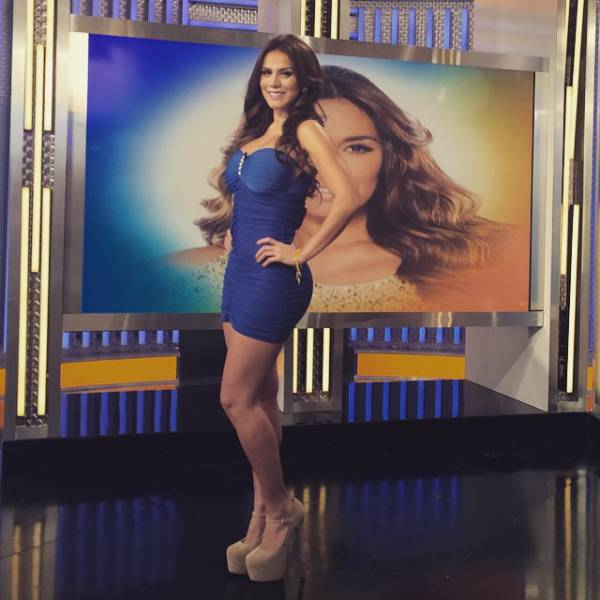 Andrea Rincon Is a Spanish TV Host That Sizzles with Sex Appeal