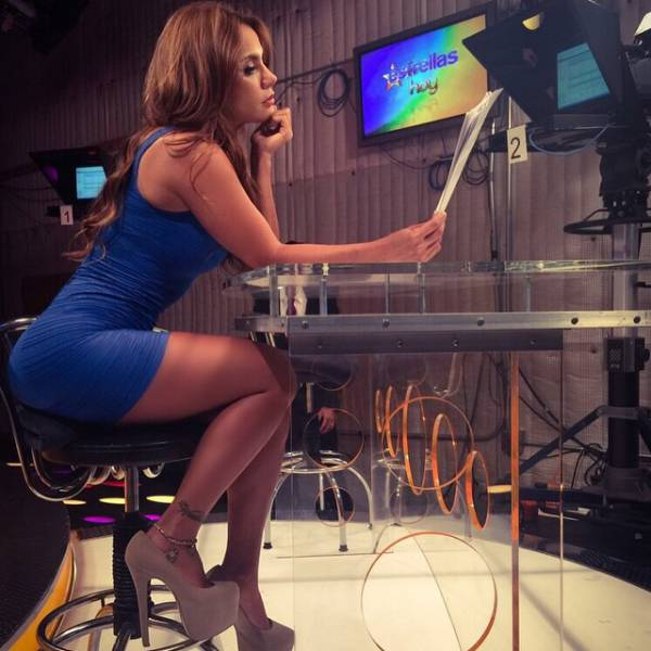 11 Andrea Rincon Is A Spanish Tv Host That Sizzles With Sex Appeal
