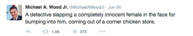 Baltimore Police Officer Tweets about Actual Cases of Corruption