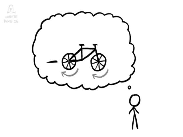 The Physics Behind How Bikes Stay Upright