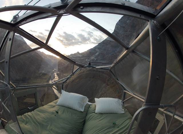 A Stunning Cliffside Hotel That Is Not for the Faint-hearted