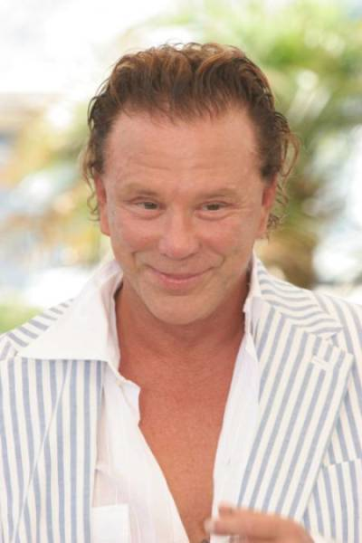"Mickey Rourke's ""Plastic"" Face Has Changed a Lot over the Years"