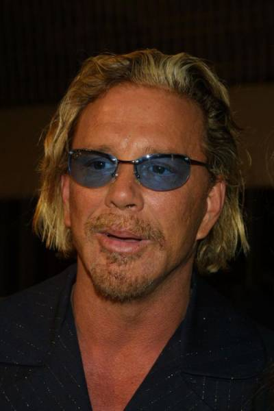 "Mickey Rourke's ""Plastic"" Face Has Changed a Lot over the ..."