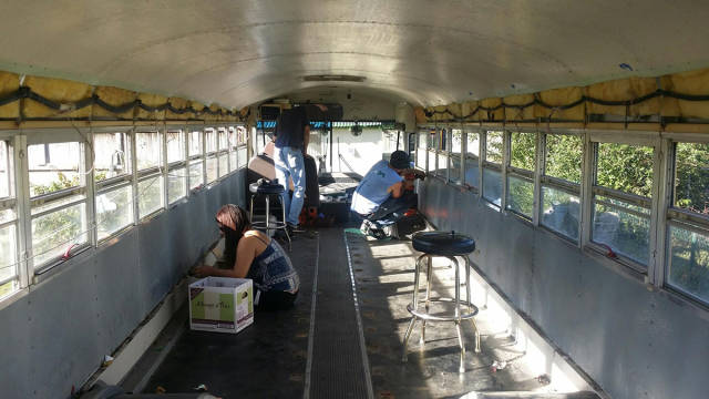 This Unused School Bus Is Transformed into a Totally Awesome Motorhome