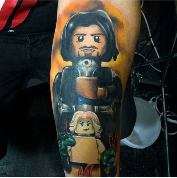 "Epic Tattoos of Some Exceptionally Die-hard ""Game of Thrones"" Fans"