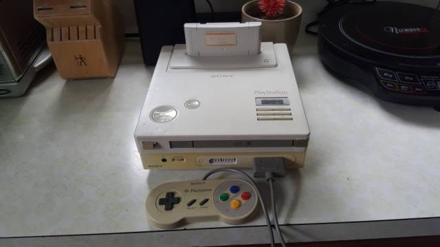 Guy Stumbles across a Rare Nintendo Sony Playstation Prototype in His Own Home