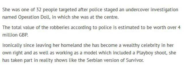 Bosnian Playboy Model Is Deported for Criminal Activity