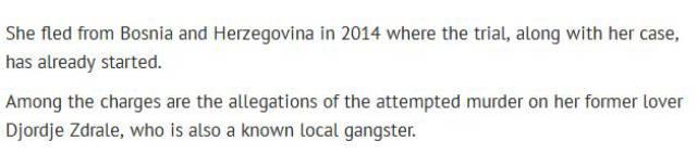 Bosnian Playboy Model Is Deported for Criminal Activity