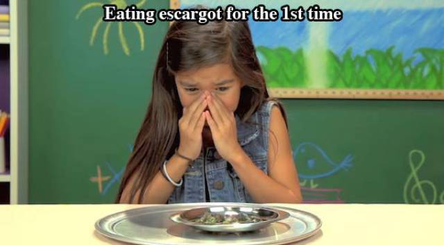 Amusing Reactions of Kids Experiencing Things for the First Time