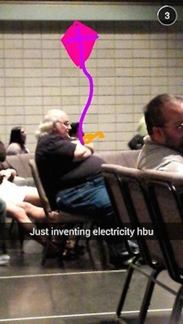 Snapchats That Will Tickle Your Funny Bone
