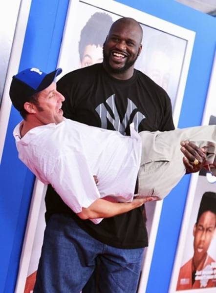 Shaquille O'Neal Is One Massive Hulk of a Man