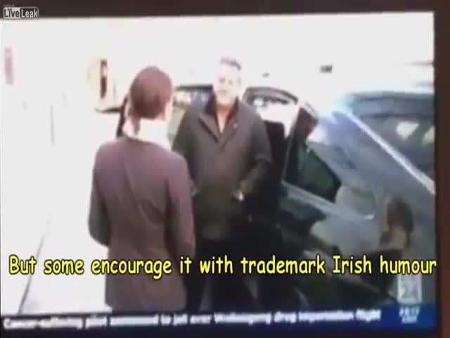 An Irish Taxi Driver's Funny Comment About Same-Sex Marriage
