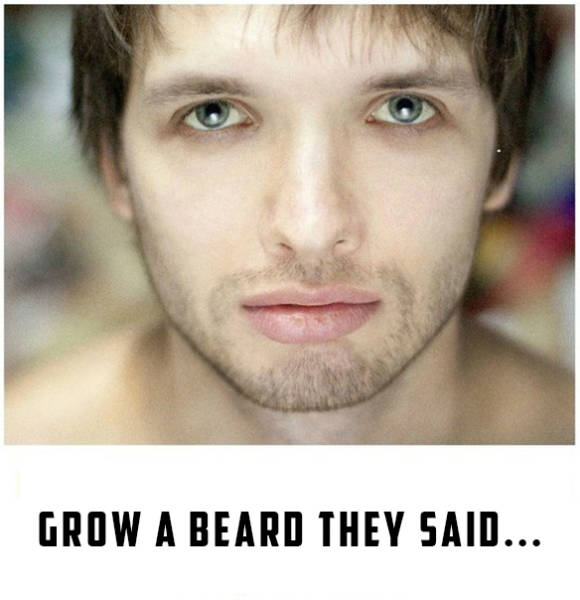 Proof That A Beard Definitely Doesn't Work for Everyone