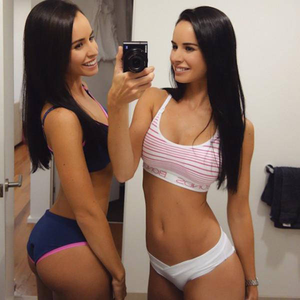 It's Double the Fun and Double the Trouble with These Hot Instagram Sisters
