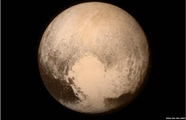 NASA Releases First Up Close pics of Pluto
