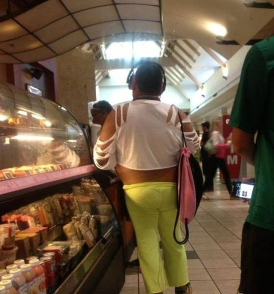People Who Take Fashions Don'ts to the Next Level
