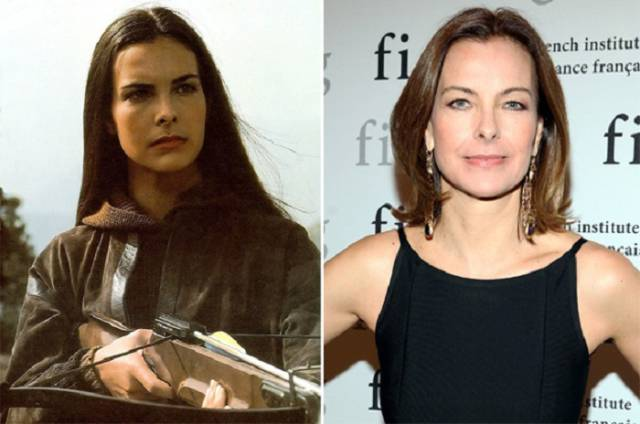 A Few of the Hottest James Bond Leading Ladies Then and Now