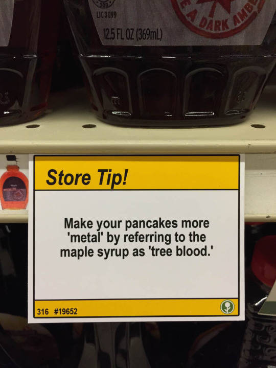 Witty Shopper Leaves Behind Hilarious Shopping Tips at a Local Grocery Store