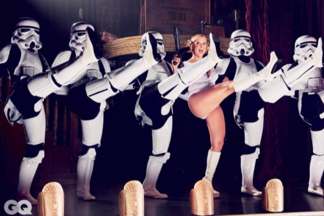 Amy Schumer Puts a Sexual Spin on Star Wars Themed Photo Shoot