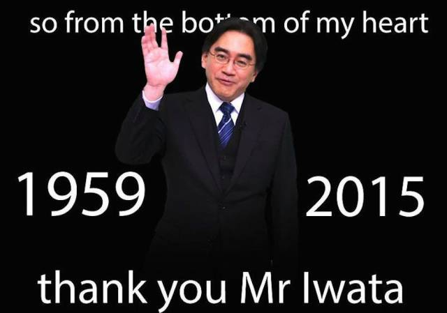 One Man's Touching Tribute to Nintendo's Late President Satoru Iwata