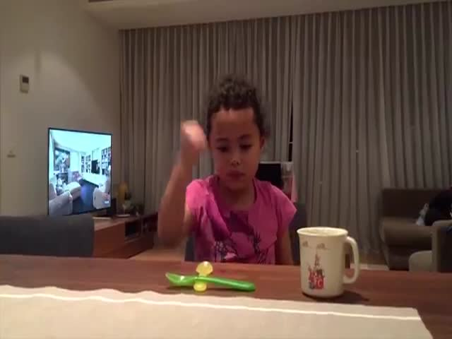 This Little Girl Has Some Surprising Skills