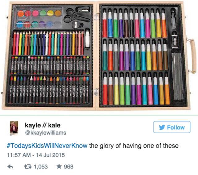 Twitter Takes a Trip Down Memory Lane with #TodaysKidsWillNeverKnow