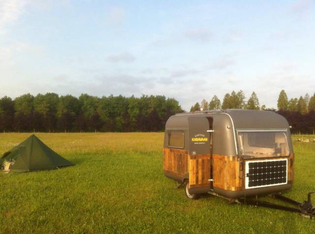 A Cosy Campervan That Is Perfect for Working in the Wild