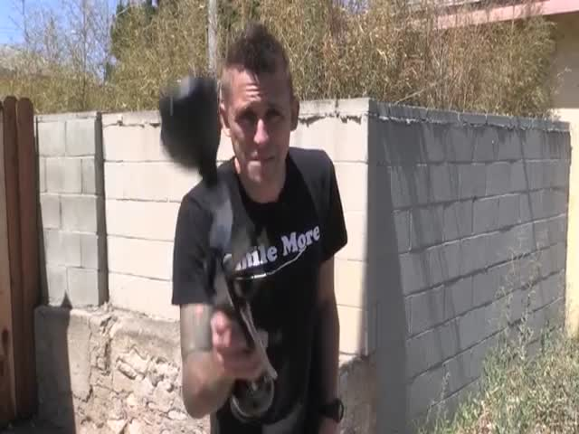 This Public Paintball Prank Makes a Lot of People Very Mad