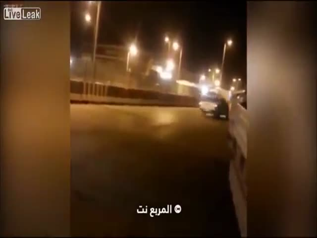 This New Speedbump in Saudi Arabia Causes a Little Chaos for Motorists