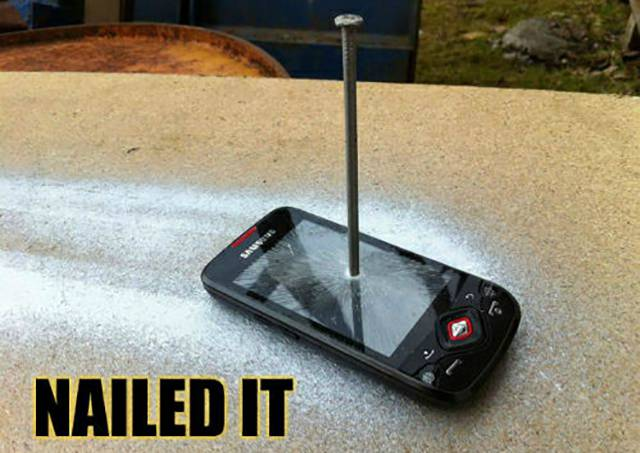 Totally Nailed It!