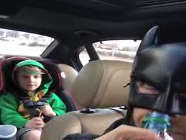 Batdad Is the Coolest Dad in the World